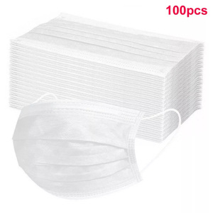 CE Certified 3Ply Disposable Protective Medical Surgical white Face Mask