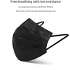 CE Certified 3Ply Disposable Protective Medical Surgical Black Face Mask